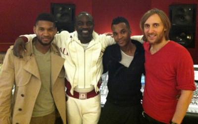 Usher, Akon, Giorgio Tuinfort, David Guetta
